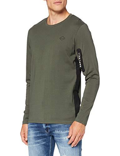 Photo of Replay Men's M3167 .000.22832p T-Shirt, 212 Mud, M