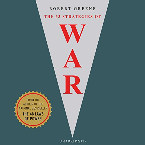 33 Strategies of War audiobook cover art