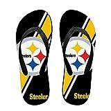 Stockdale Pittsburgh Steelers Casual Mens Flip Flops Women Flip Flops Sandal Slides Beach Bhoes
