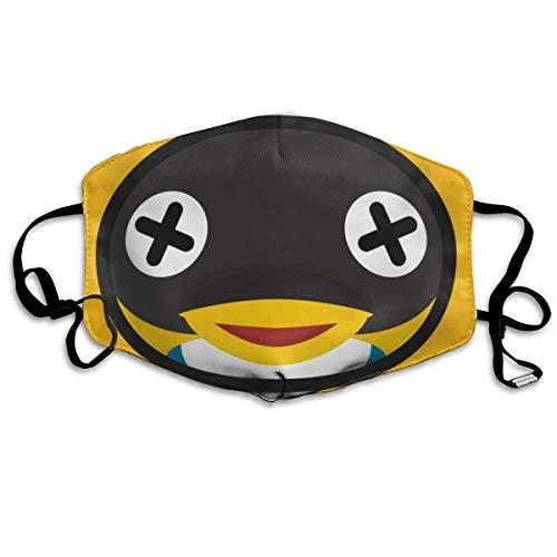 Halloween Fashion Mask Cube Dierkruising verstelbare oorschelp gezichtsmasker stofmasker anti-pollen masker