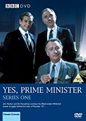 Yes Prime Minister on DVD