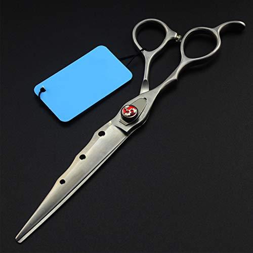Friseurscheren Set, Für Linkshänder Friseurschere Effilierschere Handgefertigt Japanischer Edelstahl, Perfekt Für Friseure Oder Zu Hause 7.0 Zoll,FlatCut7Inch