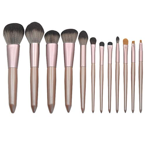 Make Up Pinsel, LCLrute Professionelles Schminkpinsel Set 12 Foundation Blending Erröten Eyeliner...