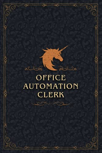 Compare Textbook Prices for Office Automation Clerk Notebook Planner Golden Unicorn Design Cover Check List Journal: A5, Daily, Planning, Budget Tracker, Happy, 120 Pages, 6x9 inch, 5.24 x 22.86 cm, Daily Organizer, Pretty  ISBN 9798523898624 by Haley, Mohamad