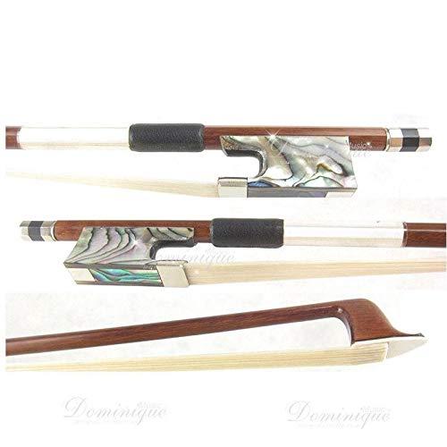 D Z Strad Violin Bow - Model 650 Pernambuco Violin Bow with Ebony Frog (Full Size - 4/4)