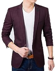 MENJESTIC Men's Formal/Party Blazer 2/Colours