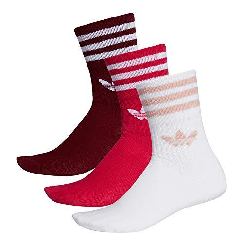 adidas Originals Socken Dreierpack MID CUT CRW SCK ED9396 Mehrfarbig, Size:39/42