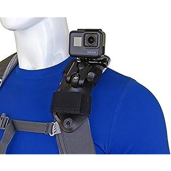 con montaje de liberaci/ón r/ápida Xiaoyi SJ Soporte para chaleco de buceo con forma de mochila de correa para GoPro Hero