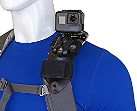 STUNTMAN Pack Mount - Backpack Shoulder Strap Mount for GoPro and Other Action Cameras