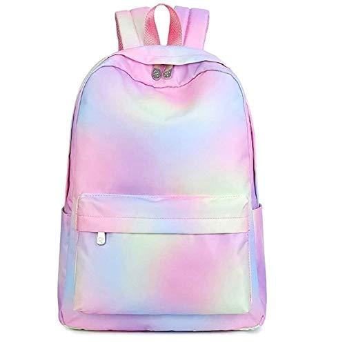 XZJJZ Mochila Impermeable de diseño clásico para Mujer, Mochila de Ocio para niñas, Mochila Escolar para Estudiantes, Mochila de Viaje
