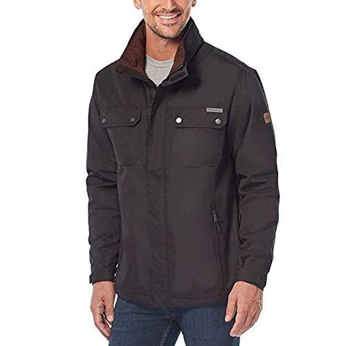 Rugged Elements Men's Trek Jacket (Large, Black)