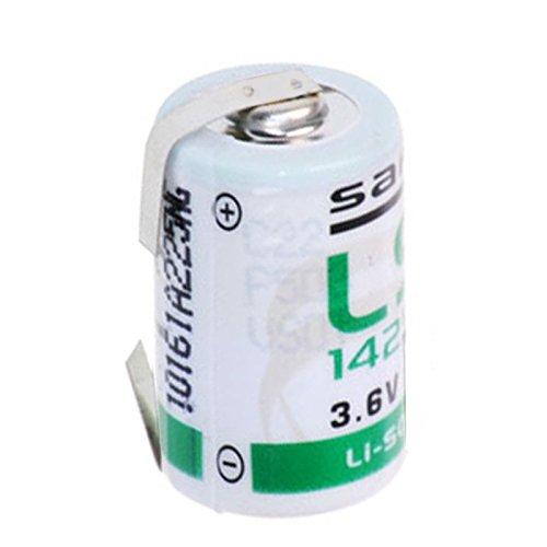 Jus, unique lS14250CNR pile au lithium 1/2 aA (cosses à souder en forme de u