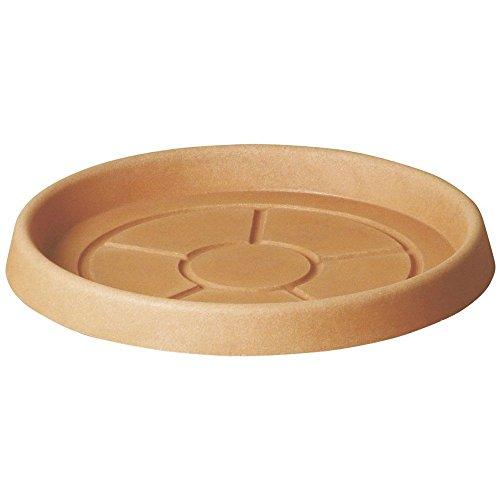 Teraplast vaso Sottovaso Tondo 40 cm Made in Italy riciclabile