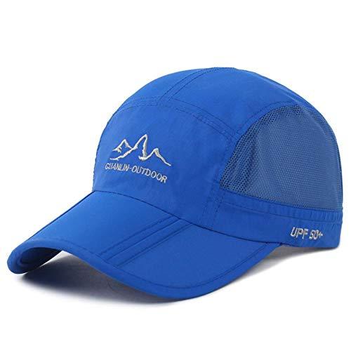 XMYNB Baseball Kappe Sommer Baseballmütze Schnelle Trockenhut Sport Mode Sun Baseballkappen Atmungsaktiv Ultradünn