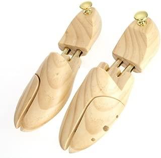 Wooden Adjustable Width Unisex Shoe Tree Stretcher Shaper Keeper 10 inch Long