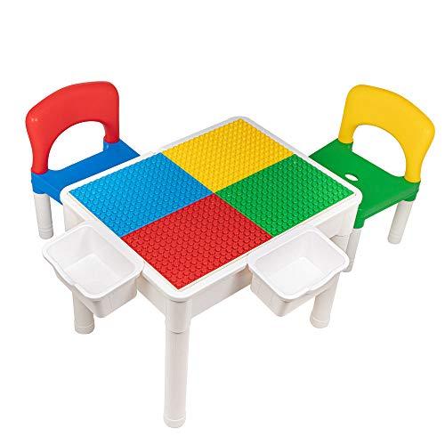 ikea kindertafel met 2 stoeltjes