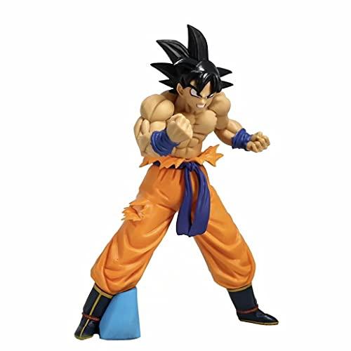 ZEwe Dragón Bola Goku Anime Figura Decoración Decoración de Escritorio Doll Cumpleaños Regalos Mejores Regalos for Adultos