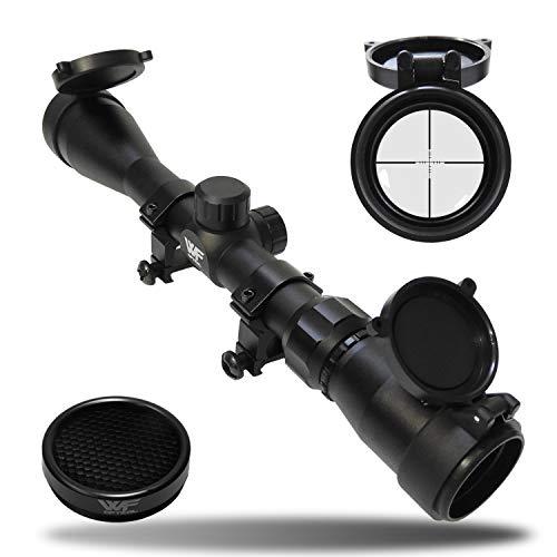 WF Optical ライフルスコープ 3-9x40mm マウントリング付属/3~9倍ズーム 国内狩猟、実銃対応