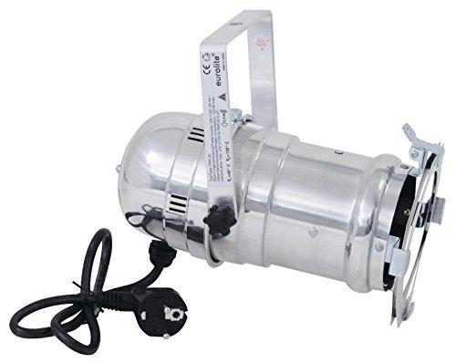 Preisvergleich Produktbild showking PAR - 30 Scheinwerfer REGULAK 230V / max 100W,  Sockel E - 27,  mit Netzkabel,  alu - PAR - Spot für Partybeleuchtung / Schaufensterbeleuchtung