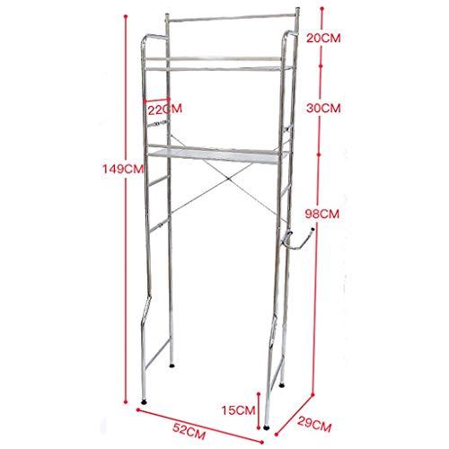 Waschmaschine Regal Steh- Bad Regale schaffen mehrere zusätzlichen Speicherplatz for überfülltes Badezimmer, geeignet for Bäder, Waschküchen, Balkone, usw. (Size : A)