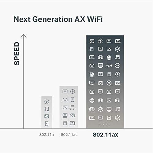TP-Link Enrutador AX6000 WiFi 6 (Archer AX6000) - Enrutador inalámbrico, router WiFi de 8 flujos, puerto WAN 2.5G, 8 puertos LAN Gigabit, MU-MIMO, CPU de cuatro núcleos de 1.8 GHz