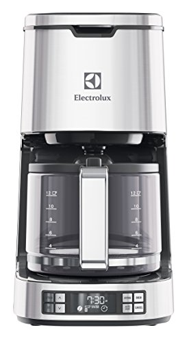 Electrolux EKF7800 Macchina da Caffè Americano Programmabile, 1100 W, 1.65 Litri, Acciaio inossidabile, Argento