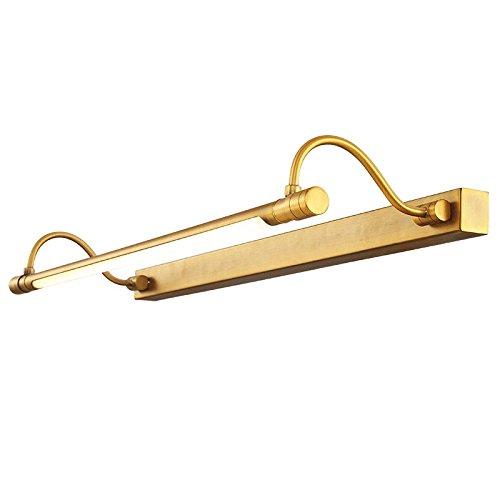 bootu Aplique LED de Arriba a Abajo lámparas de pared Vidrio espía delantero Luz del bagno-rame Vidrio ligero Tapa impermeable Luces de pared antiguo Espejo de baño en el Jardín delantero