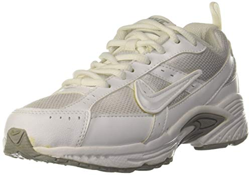 Nike Boy's Supergame Gs Pure Platinum White Sports Shoes -13.5 Kids UK(32 EU)(1Y US)(459654-102)