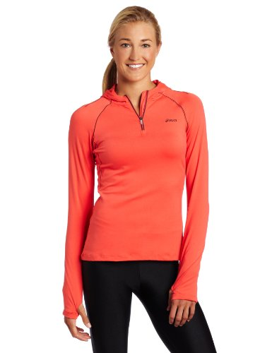ASICS Damen Thermopolis LT Hoody, Damen, Ruby/Java, X-Large