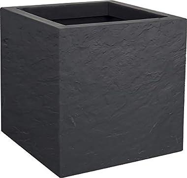 EDA Volcania Up Pot, Gris Anthracite, 30 cm