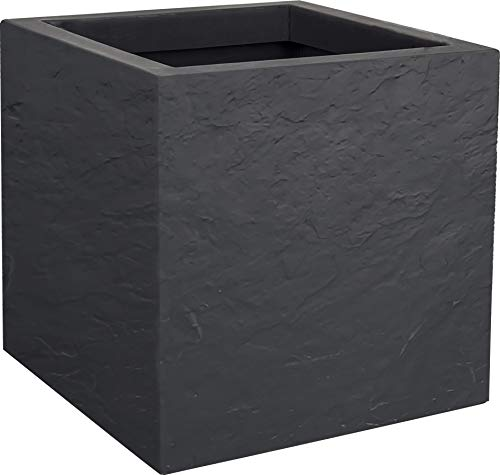 EDA Volcania Up Pot, Gris Anthracite, 30 cm