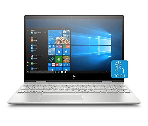 HP Envy X360 15t 2-in-1 Touchscreen Laptop (Intel Core i7-8550U, 12GB DDR4 RAM, 256GB SSD, 15.6' Full HD Touch Display, Windows 10) Convertible Notebook Computer
