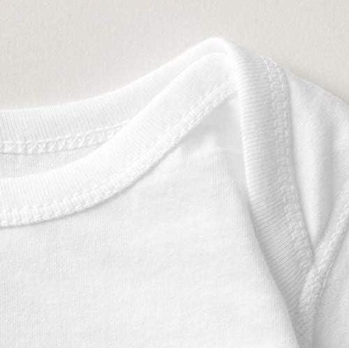 Z-Jane Ben #7 Roethlisberger Newborn Babys Long Sleeve Jumpsuit Outfits White