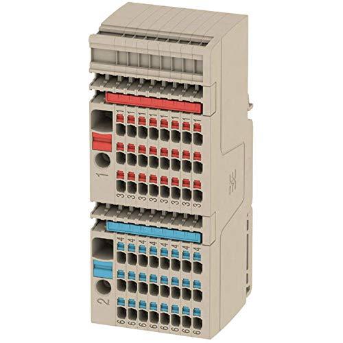 Verteiler-Reihenklemme Set AAP11 6/1.5/24C 2506370000 Beige Weidmüller 1 St.