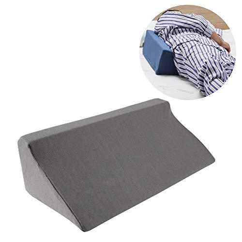 NADAENW driehoekige bed wigkussen wiggen voor slapen been hoogte driehoekige positie pads terug Lumbar ondersteuning laterale kussen