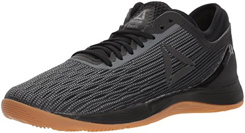 Reebok Women's Crossfit Nano 8.0 Flexweave Workout Joggers, black/alloy/gum, 8 M US