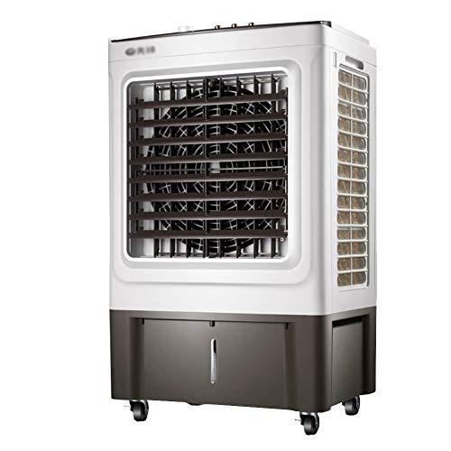 CQILONG-Klimaanlage Tragbare Großer Wassertank Schnelles Kühlen Reinigung Und Befeuchtung Industriekühler for 30-65m2 Verwenden (Color : Gray, Size : 60x42x102cm)