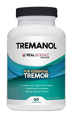 Tremanol – All Natural Essential Tremor Herbal Supplement - May Provide Long-Term Relief for Shaky Hands, Arm, Leg, & Voice Tremors (60 Capsules)
