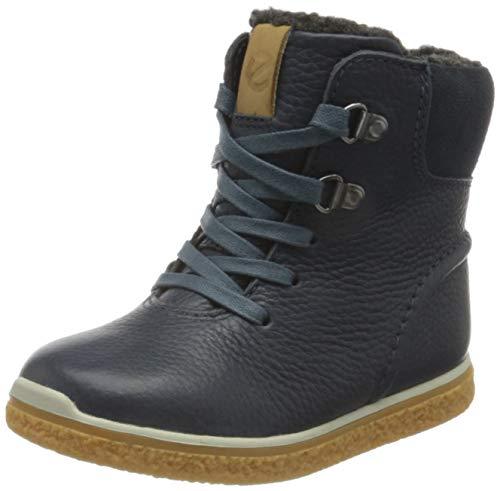ECCO Baby-Jungen Crepetray First Walker Shoe, Blau (Ombre/Ombre), 23 EU