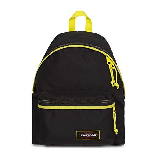 Eastpak Padded Pak'r Backpack, 40 cm, 24 L, Kontrast Lime (Black)