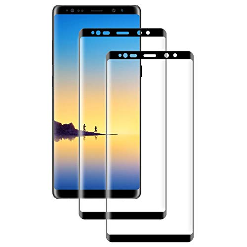 PUUDUU Panzerglas Schutzfolie für Samsung Galaxy Note 8 [2 Stück] HD Transparenz Gehärtetes Glas Panzerglasfolie [9H Härte] [Anti-Kratzer] [Bläschenfrei] Displayschutzfolie für Samsung Galaxy Note 8