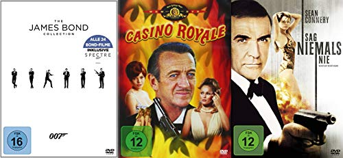 James Bond Complete Collection – 26 Filme incl. Casino Royale DVD Edition