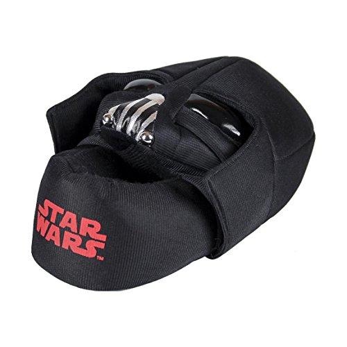 Star Wars - Zapatillas de estar por casa cerrada, color negro (26)