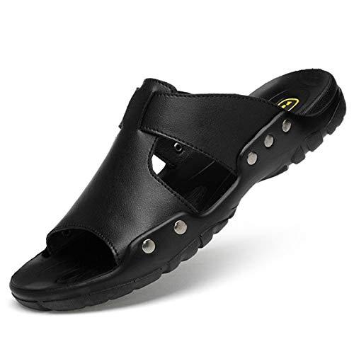 MERRYHE Zapatillas de Playa de Talla Grande para Hombre, Sandalias de Verano para Hombre, Zapatos de Playa al Aire Libre Ligeros e Informales