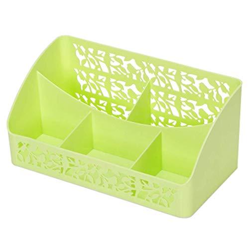 BOX Cosmétiques Boîte de Rangement En Plastique Simple Bureau Rouge À Lèvres Bijoux Soins de La Peau Produits de Stockage D'Affichage Boîte,Vert