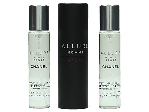 Chanel Allure Sport homme/man, Eau de Toilette, 3x20 ml, 1er Pack (1 x 60 ml)