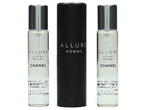 Chanel Allure Sport homme/man, Eau de Toilette, 3x20 ml, 1er Pack (1 x 60 ml)