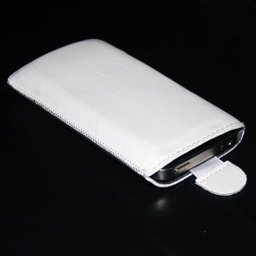 Handytasche passend für Kazam Kazam Tornado 2 5.0 Handy Tasche Schutz Hülle Slim Hülle Cover Etui weiss
