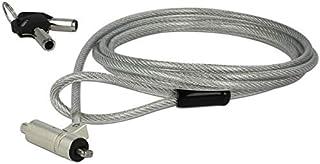 Navilock 20653 - Cable antirrobo (Plata, Portátil, Llave, Kensington, 1,8 m, 4,5 mm)