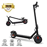 Phaewo Gyroorshoes Store Electric Scooter for Adults, Speed Up to 15.6 MPH, 8.5' Explosion-Proof Solid Tires, Two Speeds Adult Electric Scooter for Commute with Double Braking System
